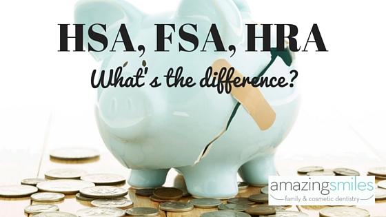 HSA, FSA, HRA comparison and uses